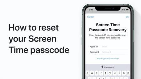 Apple Support、iPhoneおよびiPadでスクリーンタイムのパスコードをリセットする方法のハウツービデオを公開