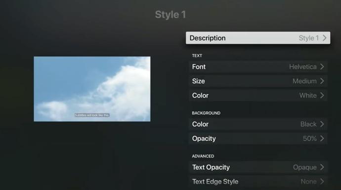 Apple Support、Apple TVで字幕とキャプションをカスタマイズする方法のハウツービデオを公開