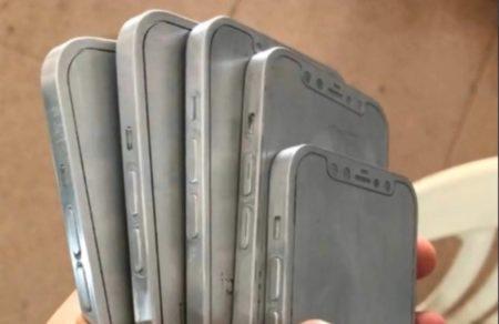 iPhone 12と言われるリークされた金型とCAD画像はiPad Proのようなデザイン