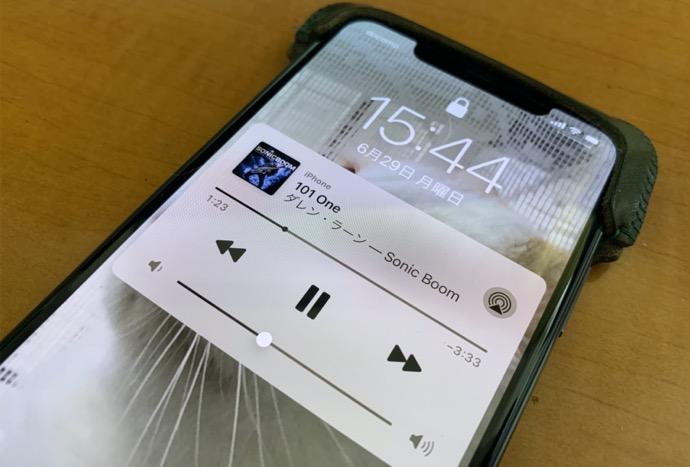 iPhoneでビデオを撮影しながら、ミュージックを再生し録音する方法
