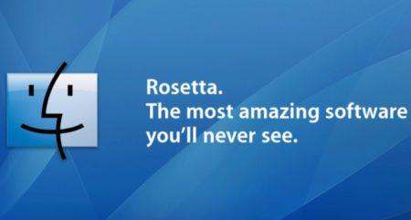 Apple、今年初めに「Apple Rosetta」の商標を日本で出願