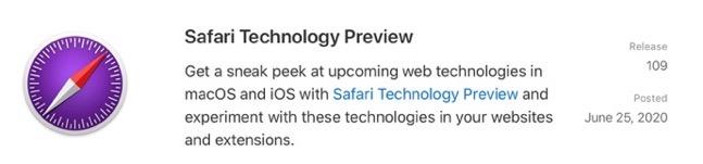 Safari Technology Preview 109 00001 z