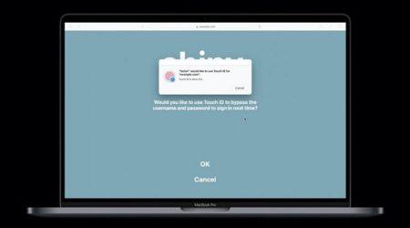 新しいSafari APIは、WebサイトのFace IDとTouch ID認証を可能に