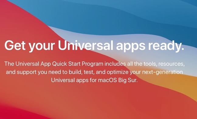 Universal App Quick Start Program z