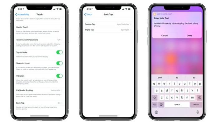 iOS 14、「Back Tap 」機能でiPhoneの背面をタップしてアプリを開くことができる
