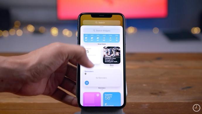 iOS 14 ベータ版での250以上の新機能と変更点のハンズオンビデオが公開される