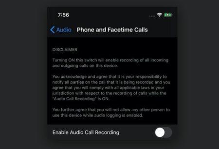 噂の「iOS 14の通話記録機能」は内部デバッグ専用で、公開はされない可能性が高い