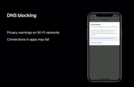 Apple、iOS 14およびmacOS Big Surに暗号化されたDNSのサポートを追加