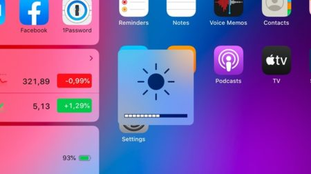 iPadOS 13.5.5、iPadでキーボードの明るさを変更するための新しいショートカットをテスト