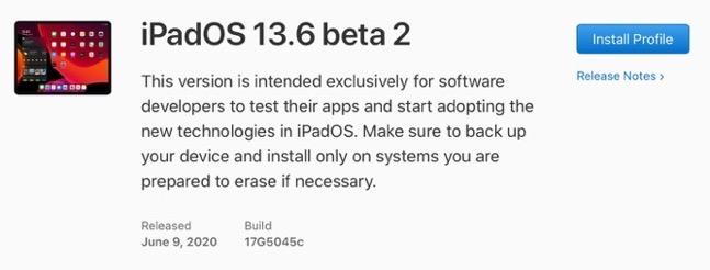 IPadOS 13 6 beta 2 00001 z