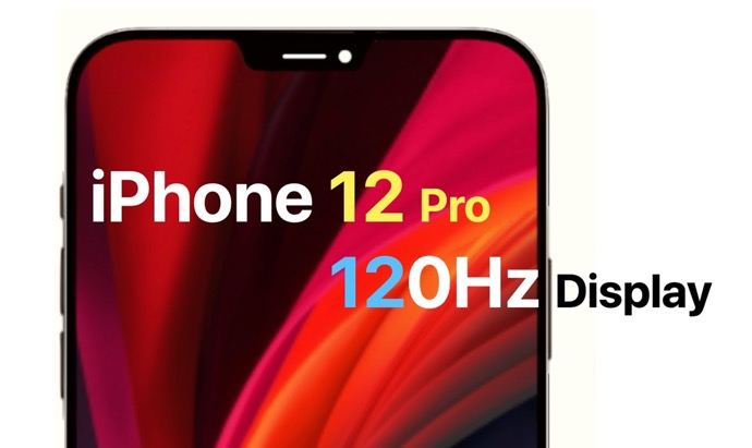 iPhone 12 Pro / Pro Maxには120 HzのProMotionディスプレイが搭載され、オプションで60 Hzを選択できるため、バッテリー持続時間が長くなる