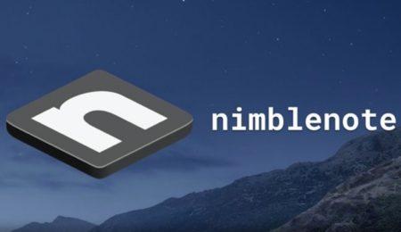 【Mac】キーボード操作のインターフェースの無料メモアプリ「nimblenote」