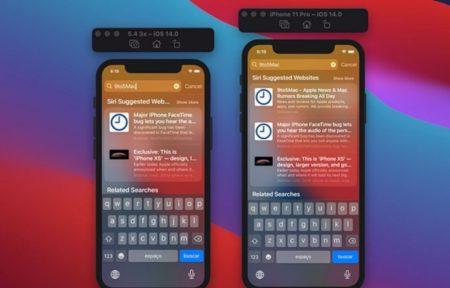 iOS 14 beta版のグラフィカルアセットは、5.4インチiPhoneを確認