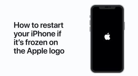 Apple Support、iPhoneがAppleロゴでフリーズした場合に再起動する方法のハウツービデオを公開