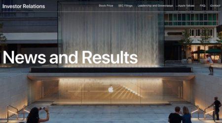 Apple、1対4の株式分割を発表