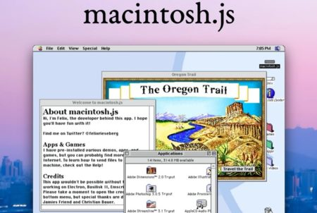 Mac OS 8が、MacOS、Windows、Linuxにダウンロードしてインストールできるアプリに