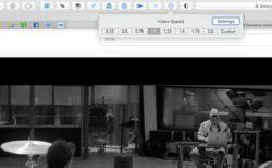 Web上のビデオの再生速度を簡単に変更できる無料のSafariの拡張機能「Speed Player for Safari」