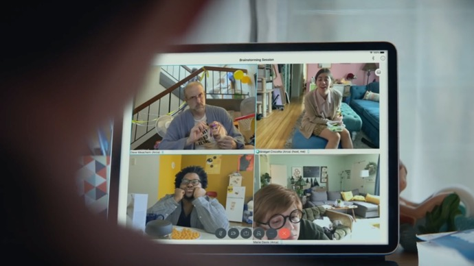 Apple、「Apple at Work」シリーズの新しいCF「The whole working-from-home thing」を公開
