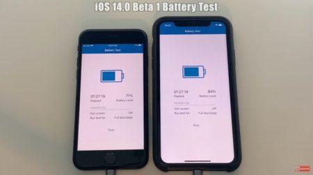 iOS 14 Beta 1バッテリーテスト結果に驚きの結果が
