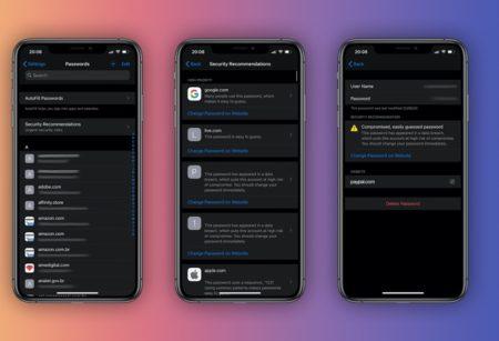 iOS 14とiPadOS 14、iCloud Keychainがパスワード漏洩を警告