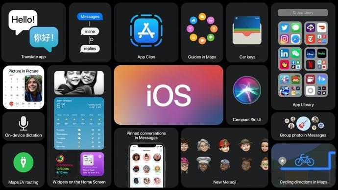 Apple、iOS 14  beta 3 は新しい時計ウィジェット、刷新された音楽アイコンなどを含む新機能