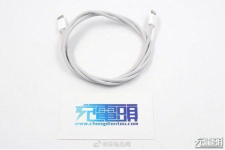 リーク画像によると、新しい編組USB-C-LightningケーブルがiPhone 12ボックスに同梱される可能性