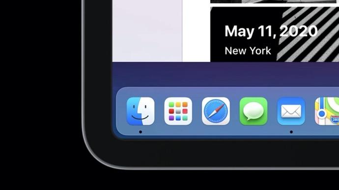 シミュレーションは、iPad上でmacOSがどのように見えるのか