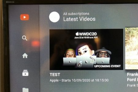 AppleのYouTubeチャンネルが9月の「iPhone 12」イベント日付を漏らした可能性