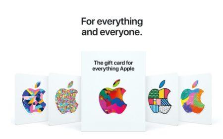 Apple、ハードウェア、ソフトウェア、サービスのためのユニバーサルギフトカードを発売
