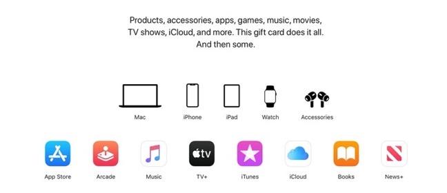Apple Gift Card 00002 z