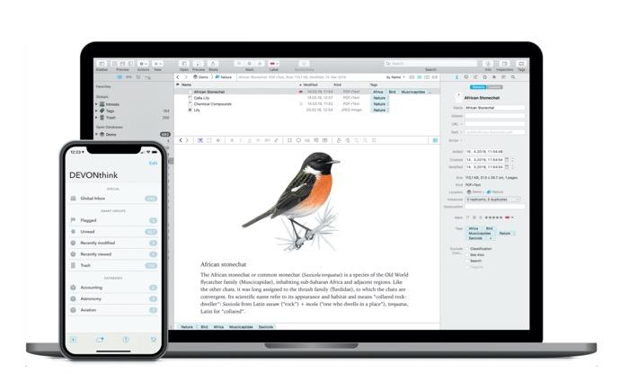 文書および情報ソリューション「DEVONthink」がmacOS 11.0 Big Surをサポート