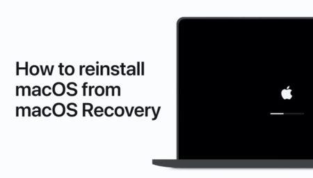 Apple Support、macOS リカバリーからmacOSを再インストールする方法のハウツービデオを公開