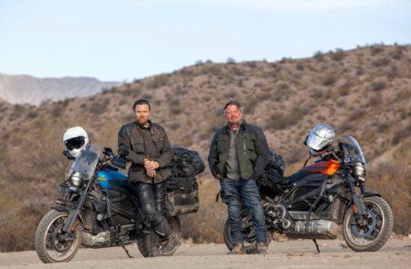 Apple TV+、Ewan McGregorとCharley Boormanの台本なしの新シリーズ、「Long Way Up」を初公開