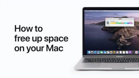 Apple Support、Macの空き容量を増やす方法のハウツービデオを公開