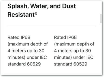 iPhone 12 Pro Max の技術仕様比較ページがリークされる