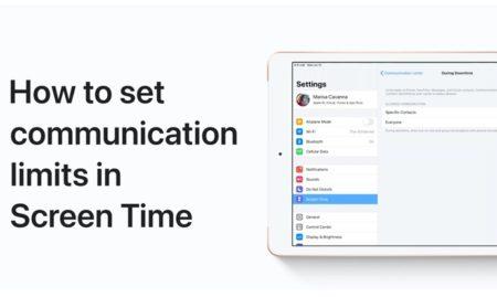 Apple Support、iPhone、iPadのスクリーンタイムで通信制限を設定する方法のハウツービデオを公開
