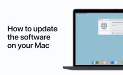 Apple Support、Macでソフトウェアをアップデートする方法のハウツービデオを公開