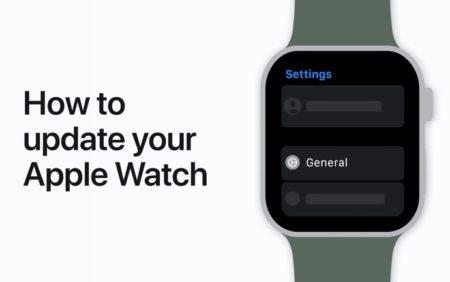 Apple Support、Apple Watchのアップデート方法のハウツービデオを公開