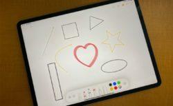 iOS 14 / iPadOS 14の新しい図形認識ツールでメモ、図面、注釈に完璧な図形を作成