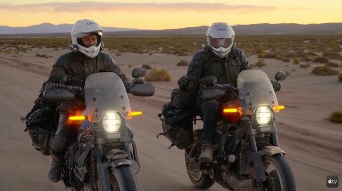 Apple TV+、新オートバイシリーズ「Long Way Up」の予告編を公開
