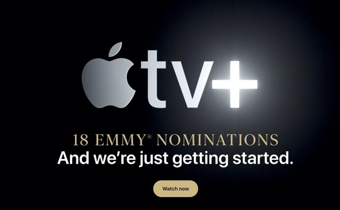 Apple、ホームページでApple TV+の18のエミー賞候補にスポットを当てる