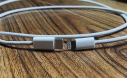 iPhone 12の編み込みUSB-C-Lightningケーブルの写真がリーク