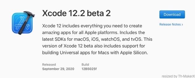 Xcode 12 2 beta 2 00001 z