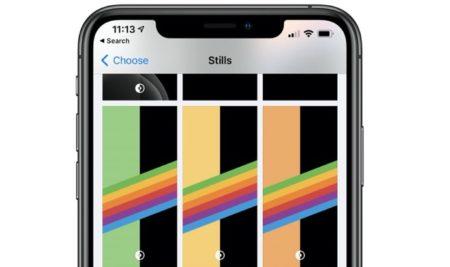 iOS 14 beta 7、ダークモードのレインボーの新しい壁紙、Appライブラリの微調整など