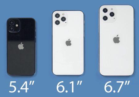 6.1インチのiPhone 12とiPhone 12 Proが先行して発売か