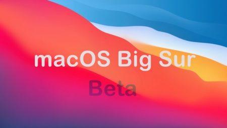 Apple、「macOS Big Sur Developer beta 9 (20A5384c)」を開発者にリリース