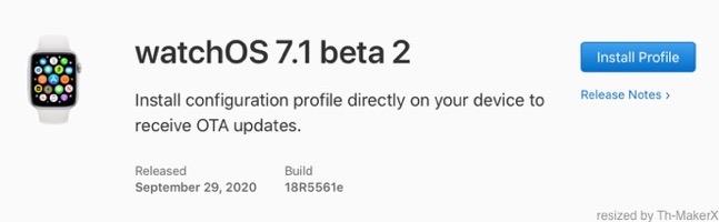 WatchOS 7 1 beta 2 00001 z