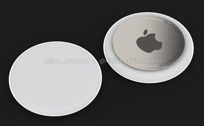 Apple、AirTagsは2つのサイズで間もなくリリースと噂される