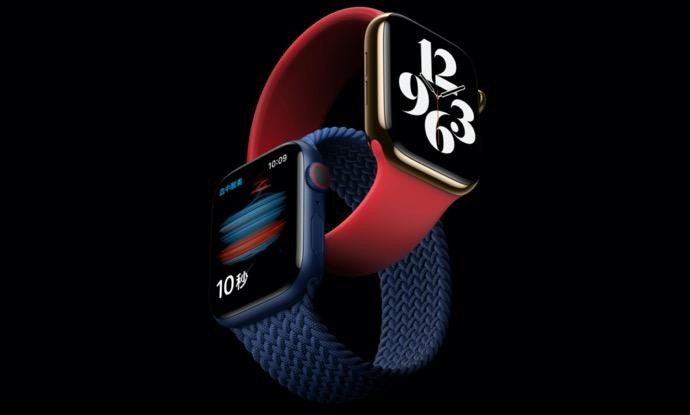 Apple Watch Series 6、ブレイデッドソロループのサイズ交換品が届く