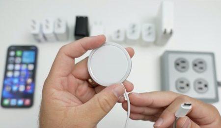 MagSafe 15W高速充電はApple 20Wアダプタに限定される